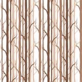 вал озера березы baikal предпосылки картина безшовная элемент для обоев, предпосылка fabricDesign вебсайта, приглашение детского  Стоковые Изображения RF