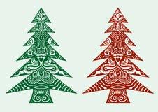 вал орнамента рождества Стоковые Изображения RF