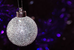 вал орнамента рождества bauble стоковые изображения rf