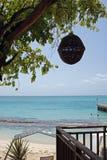 вал острова затеняемый под взглядом Стоковое Изображение RF
