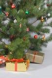 вал подарков детали рождества стоковые изображения