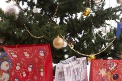 вал подарков рождества полный Стоковое Изображение RF