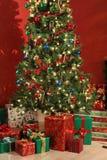 вал подарков рождества стоковые фото