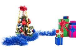 вал подарков рождества Стоковая Фотография