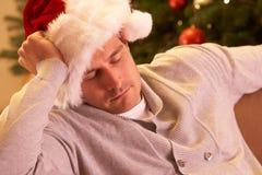 вал подставного лица рождества ослабляя утомленный Стоковое Изображение RF