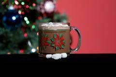 вал праздника какао горячий Стоковые Изображения