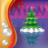вал пущи рождества бесплатная иллюстрация