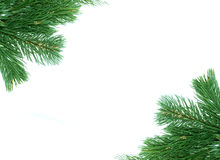вал рамки украшения рождества Стоковые Изображения