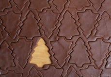 вал резца печенья рождества Стоковые Фотографии RF