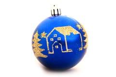 вал рождества изолированный украшением Стоковые Фотографии RF