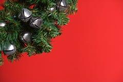 вал рождества колоколов серебряный Стоковые Изображения RF