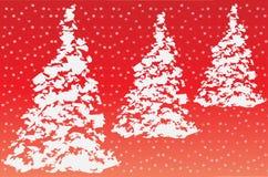 вал рождества предпосылки снежный Иллюстрация вектора