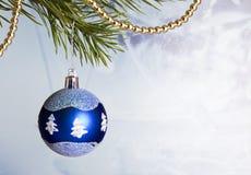 вал рождества bauble вися Стоковое фото RF
