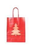 вал символа бумаги рождества мешка красный Стоковая Фотография
