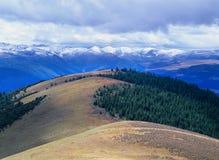 вал снежка горы осени Стоковые Фото