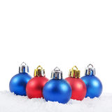 вал снежка рождества шарика Стоковое Изображение