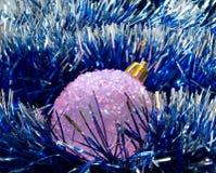 вал сферы шерсти рождества Стоковое Фото