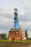 вал угольной шахты старый Стоковая Фотография RF