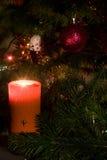 вал украшений рождества свечки Стоковые Фото