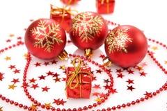 вал украшений рождества шарика Стоковое Изображение RF