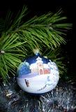 вал украшений рождества Стоковое Изображение