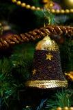 вал украшения рождества колокола Стоковые Фотографии RF