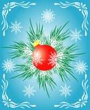 вал украшения рождества Стоковое Фото