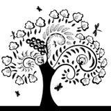 Вал флористический Стоковая Фотография RF