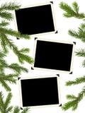 вал фото рамок рождества ретро Стоковое фото RF
