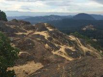 вал холма уединённый стоковое фото rf