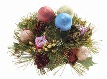 вал evergreen рождества Стоковые Фото