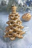 Вал gingerbread рождества Стоковые Фотографии RF