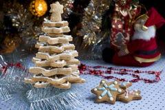 Вал gingerbread рождества Стоковое Изображение