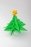 вал origami рождества Стоковые Изображения