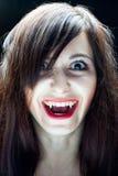 вампир девушки Стоковое фото RF