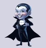вампир мальчика иллюстрация вектора