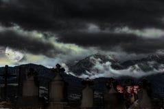 вампир погоста Стоковые Изображения