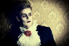 Вампир принца стоковые изображения rf