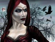 вампир princess иллюстрация вектора