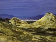 Ванильные приключения на национальном парке Death Valley летом стоковые фотографии rf