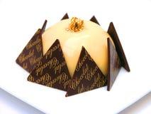 ваниль торта Стоковое Изображение