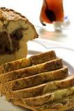 ваниль шоколада торта стоковые изображения