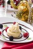 ваниль cheesecake фасоли стоковые фотографии rf