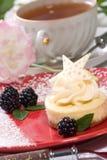 ваниль cheesecake фасоли стоковая фотография rf