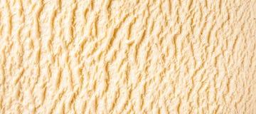 Ванильная деталь мороженого Бурбона Стоковые Фотографии RF