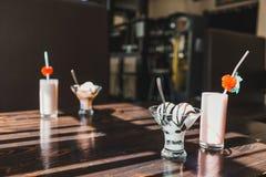 Ванильное мороженое Стоковые Фото