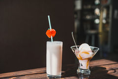 Ванильное мороженое Стоковое фото RF