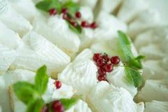 ваниль meringue печений французская Стоковое фото RF