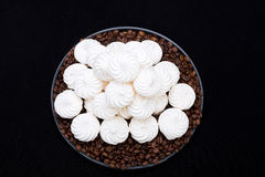 ваниль meringue печений французская Стоковая Фотография