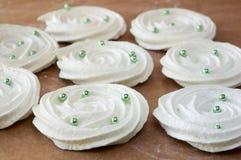 ваниль meringue печений французская Стоковые Изображения